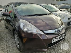Honda Fit 2012 Automatic Brown