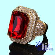 AAA Cubic Zirconia Stones-Hip HOP Gold Iced Out Rings Punk Jewelry | Jewelry for sale in Nairobi, Nairobi Central