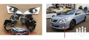 Toyota Premio: Complete Fog Lamp Kit With Chrome Covers