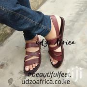 Unisex Leather Sandals | Shoes for sale in Mombasa, Mkomani
