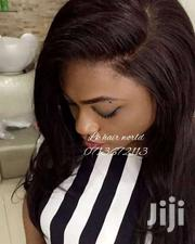 "16"" Inches Full Lace Wig 100% Pure Human Hair"" 