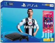 Sony Playstation 4 + FIFA 19 | Video Games for sale in Nairobi, Nairobi Central