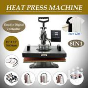 8 In 1 T-shirt Mug/Plate Sublimation Heat Press Transfer Machine | Printing Equipment for sale in Nairobi, Nairobi Central