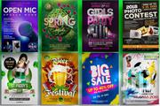 Event, Party And Club Posters/Flyers Design   Party, Catering & Event Services for sale in Nairobi, Zimmerman