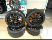 Size 19 Black Rims For Benz With Tyres | Vehicle Parts & Accessories for sale in Nairobi, Mugumo-Ini (Langata)