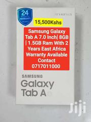 Samsung Tab A 7inch 8GB 1.5GB Ram With 2 Years East Africa Warranty | Tablets for sale in Mombasa, Mji Wa Kale/Makadara