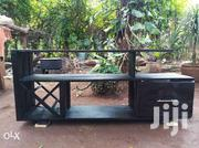 Rustic Tv Console With Wine Rack and Drawer | Furniture for sale in Nairobi, Roysambu