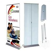 Broad Base Roll Up Banner Printing Full Color | Manufacturing Services for sale in Nairobi, Nairobi Central