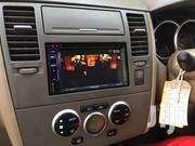 KENWOOD DDX-418BTM DOUBLE DIN CAR RADIO FITTED IN NISSAN TILDA | Vehicle Parts & Accessories for sale in Nairobi, Nairobi Central