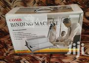 Office Point Comb Spiral Binder Machine - Black & Grey | Stationery for sale in Nairobi, Nairobi Central