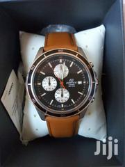 WATCH: CASIO EDIFICE GENUINE LEATHER BELT | Clothing Accessories for sale in Nairobi, Nairobi Central