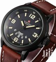 Bby 9028 Naviforce Watch Leather Strap | Vehicle Parts & Accessories for sale in Nairobi, Nairobi Central