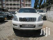 Toyota Land Cruiser Prado 2008 White | Cars for sale in Mombasa, Shimanzi/Ganjoni