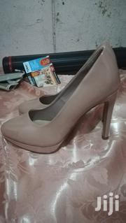 Nude (Beige) High-heeled Shoes | Shoes for sale in Nairobi, Kahawa West
