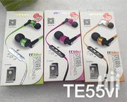 Awei Te55vi Earphones | Accessories for Mobile Phones & Tablets for sale in Nairobi, Nairobi Central