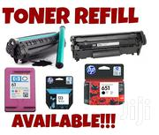 Toners And Cartridges REFILLING.. | Computer Accessories  for sale in Nairobi, Nairobi Central