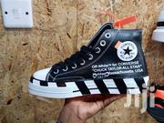 Black Converse Chuck Taylor Offwhite | Shoes for sale in Nairobi, Nairobi Central