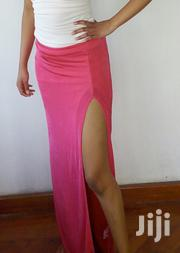 Pink Maxi Skirt With Side Slit Size 10UK | Clothing for sale in Nairobi, Nairobi Central