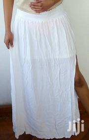 White Maxi Skirt With Side Slit Size 10UK | Clothing for sale in Nairobi, Nairobi Central