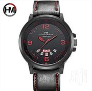 Hanan Martin Designer Watch With Calender Date and Day Plus Gift Box | Watches for sale in Laikipia, Nanyuki