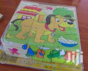 Wooden Puzzle Blocks 3 By 3 | Toys for sale in Mombasa, Mji Wa Kale/Makadara