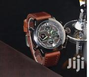 AMST Military Watches Dive 50M Nylon Leather Strap LED Watches Men | Watches for sale in Nairobi, Nairobi Central