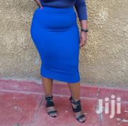 Blue Stretchy Pencil Skirt | Clothing for sale in Nairobi, Mountain View