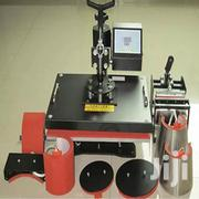8 In 1 Heat Press Machine For Printing On Tshirts/Mugs/Caps/Plates Etc | Printing Equipment for sale in Nairobi, Nairobi Central