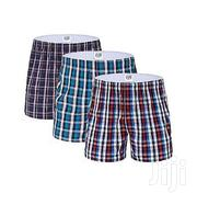 YULU Boxer Shorts - 3 Pieces - Pure Cotton- (Colors May Vary) | Clothing for sale in Nairobi, Nairobi Central