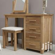 Wooden Dressing Table, With Mirror And Stool | Home Accessories for sale in Nairobi, Karen
