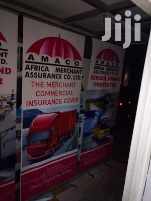 We Print All Types Of Roll-up Banners Narrow Based And Broad Based