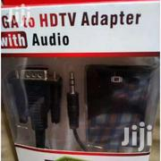 VGA to HDMI Adapter With Audio   Computer Accessories  for sale in Nairobi, Nairobi Central