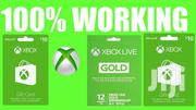 Xbox Live Gold Gift Cards   Video Game Consoles for sale in Nairobi, Nairobi Central
