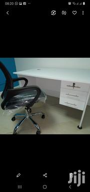 Desk 1.2mt Office Chair White Ksh 13900 Free Delivery Call | Furniture for sale in Nairobi, Nairobi West