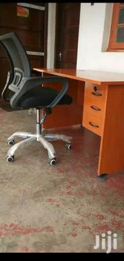 Desk 1mt Office Chair Cherry Ksh 12500 Free Delivery Call   Furniture for sale in Nairobi, Nairobi West