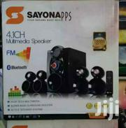 Sayona 4.1 Channel Subwoofer 15500W PMPO – Bluetooth/USB/FM | Audio & Music Equipment for sale in Nairobi, Nairobi Central
