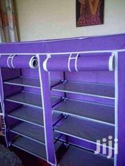 Two Columns Portable Wooden Frame Shoeracks | Home Accessories for sale in Nairobi, Kangemi