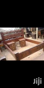 Bed King Size With Two Side Tables | Furniture for sale in Nairobi, Ngando