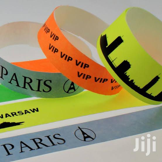 Tyvek Event Wristbands \ Event Tags \ Paper Wristbands