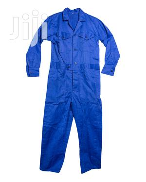 Royal Blue Cotton Overall