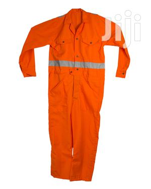 Orange Reflective Coveralls