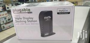 Plugable Triple Monitor Ultimate Docking Station With Power Delivery