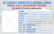 Students And Job Plastic Identity Cards | Manufacturing Services for sale in Nairobi, Nairobi Central