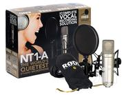 Rode NT1-A Anniversary Vocal Cardioid Condenser Microphone Package | Audio & Music Equipment for sale in Nairobi, Kileleshwa