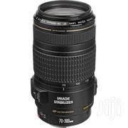 New Canon EF 70-300mm F/4-5.6 IS USM Lens For Canon EOS SLR Cameras | Cameras, Video Cameras & Accessories for sale in Nairobi, Nairobi Central