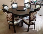 Six Seater Hard Wood Round Dining Table | Furniture for sale in Kajiado, Ongata Rongai