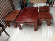 Coffee Table With Its 4 Stools | Furniture for sale in Nairobi, Ngando