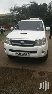 Toyota Hilux 2010 2.5 D-4D 4X4 SRX White | Cars for sale in Nairobi, Landimawe
