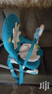 Baby Rocker With Music And Vibration (Brand:Transat Chicco Turquoise) | Children's Gear & Safety for sale in Nairobi, Karen