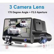 Dash Cam With  4-inch Display 3 HD Lens For Outside, Inside And Rear | Cameras, Video Cameras & Accessories for sale in Nairobi, Karen